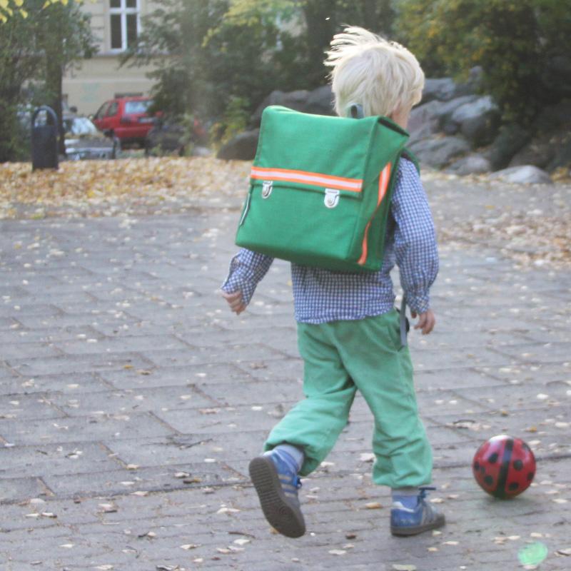 kundschafter®kubik Schulranzen in grün