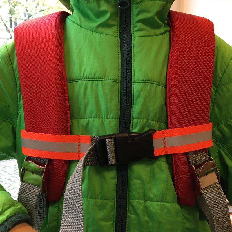 kundschafter®kubik Schulranzen in rot mit eingenähtem Brustgurt