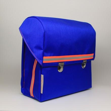 kundschafter®klassik Schulranzen in blau mit eingenähtem Brustgurt