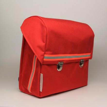 kundschafter®klassik Schulranzen in rot mit eingenähtem Brustgurt