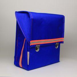 kundschafter®kubik Schulranzen in blau mit eingenähtem Brustgurt