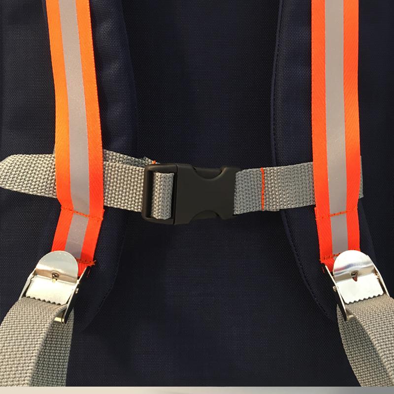 kundschafter®kubik Schulranzen in nachtblau mit eingenähtem Brustgurt
