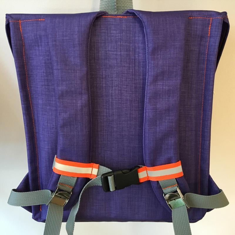 kundschafter®klassik Schulranzen in lila mit eingenähtem Brustgurt