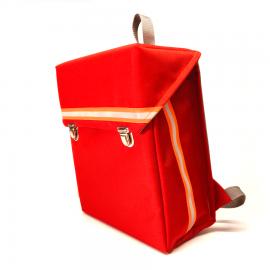 kundschafter®kasten Schulranzen in rot (superleicht: 710g!)